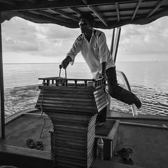 Dancing on the sea