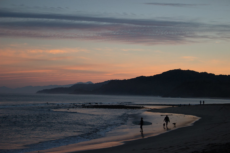 morning beach, Sayulita, Mexico