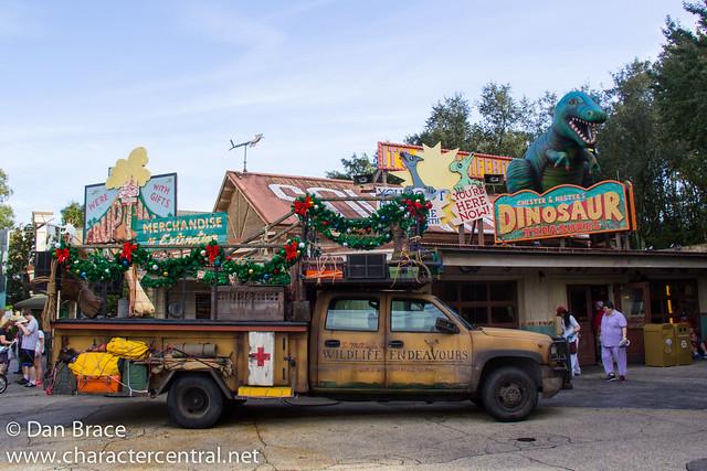 Exploring DinoLand USA