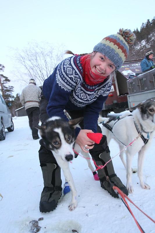 Guro Krempig klar for Finnmarksløpet 2015