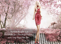 HOLIDAY GREETINGS FROM ZANZE!!!