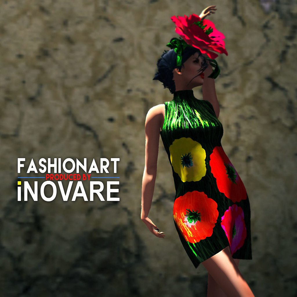 FASHIONART Ghee Warhol Dress