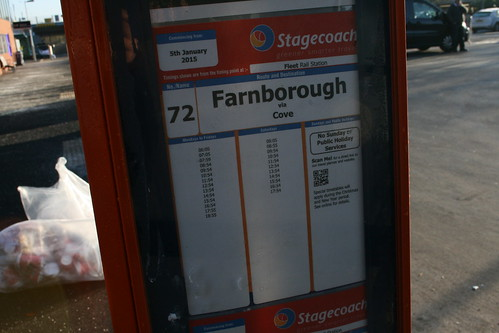 HCC Bus Cuts: 72 to Farnborough
