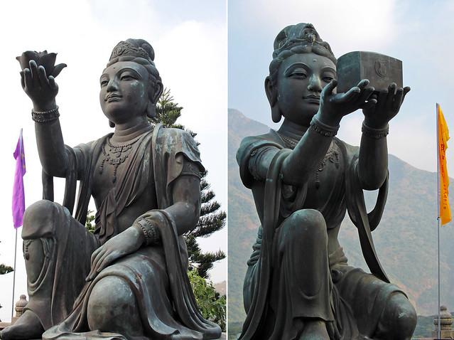 Po Lin Monastery and Big Buddha