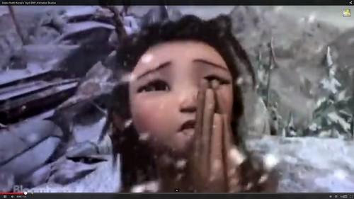 北朝鮮3Dアニメ人物