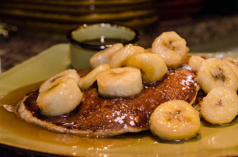 Bananas Foster Pancakes  $10