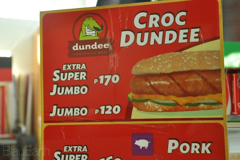 Crocodile Hotdog