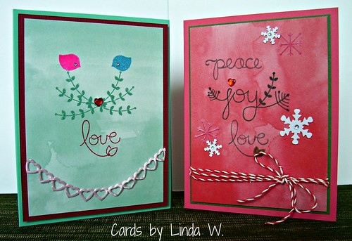 Two cards one set