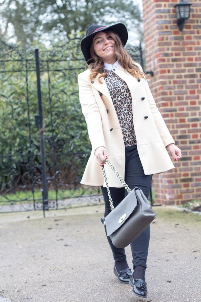 Ellie maydoll leopard jumper