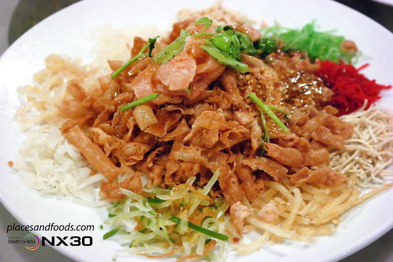 south sea seafood salmon yee sang