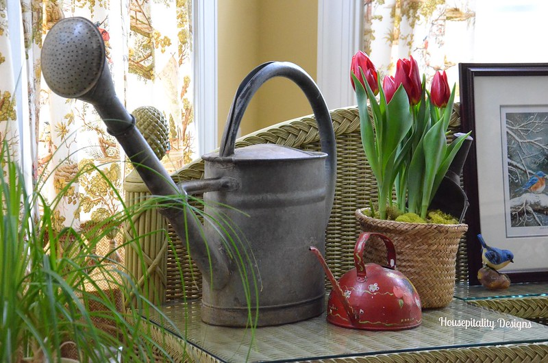 Vintage watering cans-Housepitality Designs