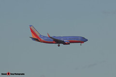 N741SA - 29277 157 - Southwest Airlines - Boeing 737-7H4 - Albuquerque, New Mexico - 141229 - Steven Gray - IMG_1478