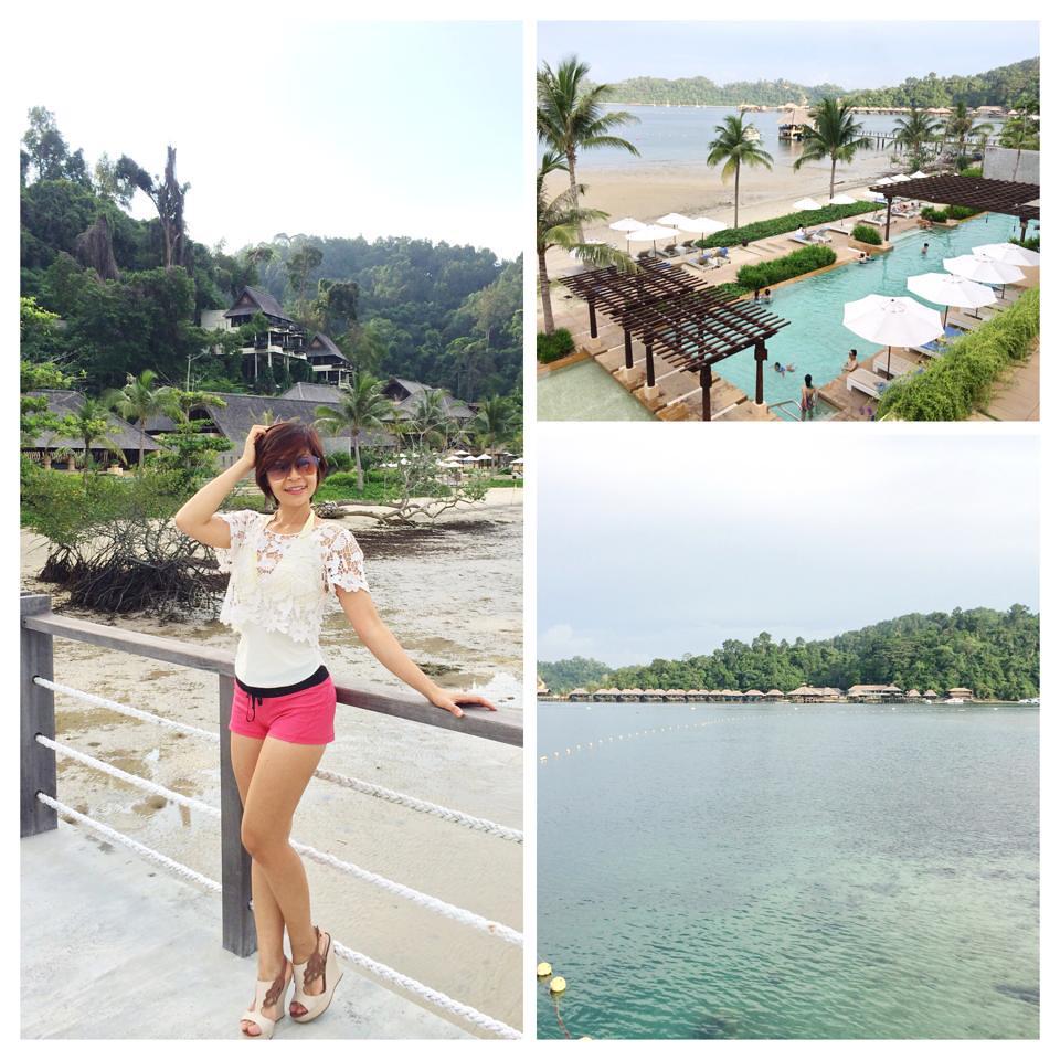 gaya island resort - arrival