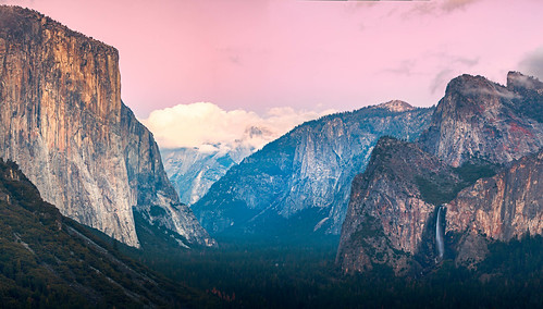 Yosemite Valley - After Sunset.