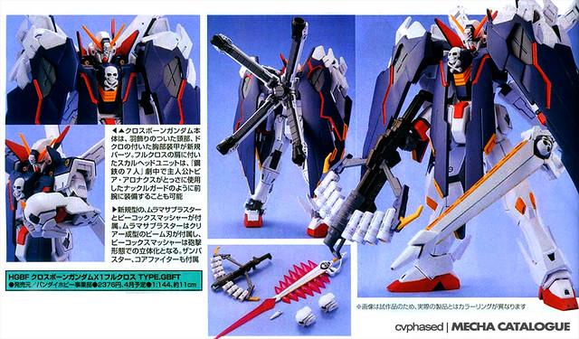 HGBF Crossbone Gundam X1 Full Cloth Type GBFT
