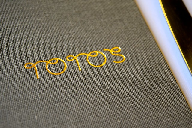 Lunch Menu at Toto's, Knightsbridge
