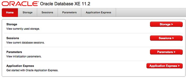 oracle xe install
