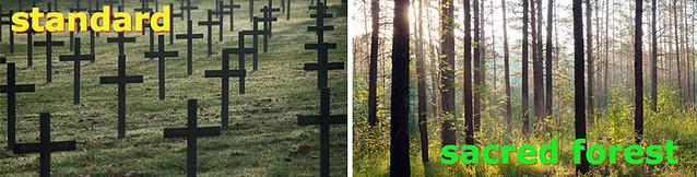 Ý tưởng sáng tạo: nghĩa trang của tương lai