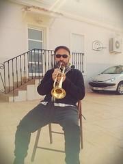 Practicando un solo de Miles Davis..., ya casi lo tengo!!!!!