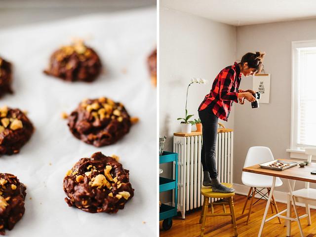 Easy no-bake cookies + Ali V.