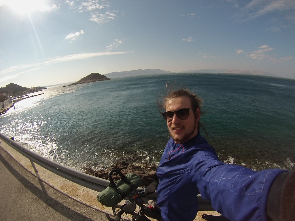 Cycling the coast in Croatia