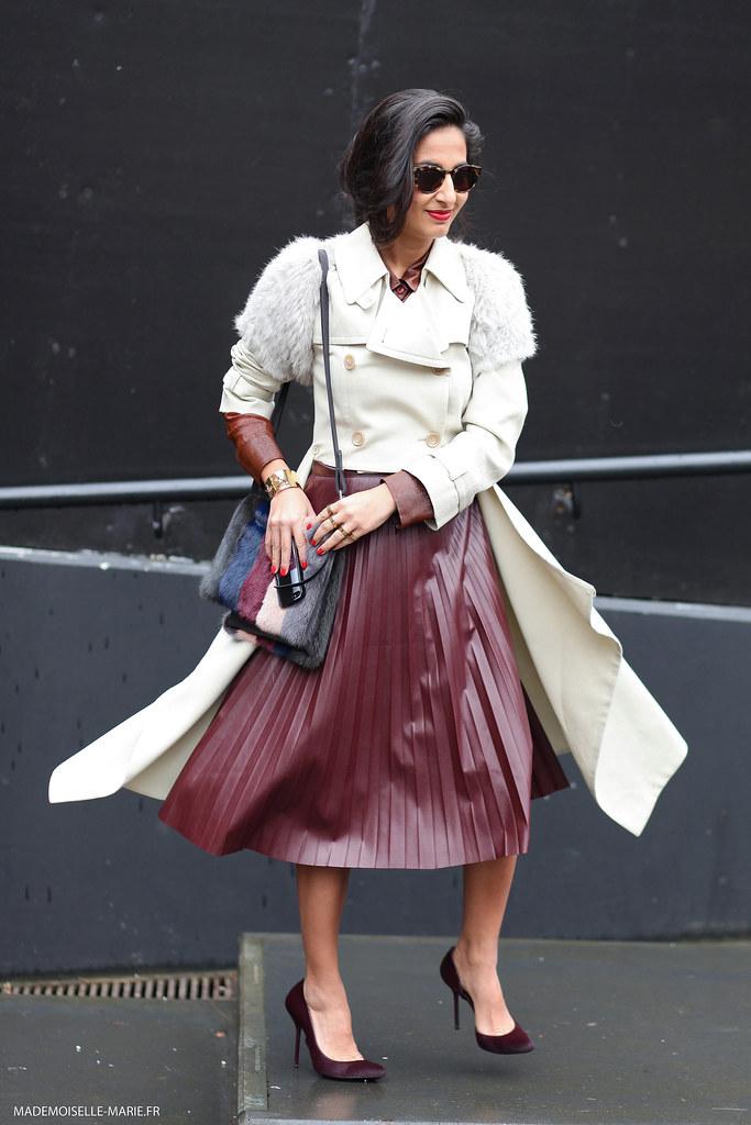 Nausheen Shah at London fashion week