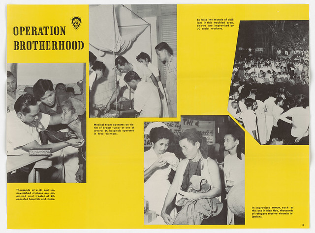 1955 Poster - Operation Brotherhood (4 Sheets to a Set), 14-09-1955