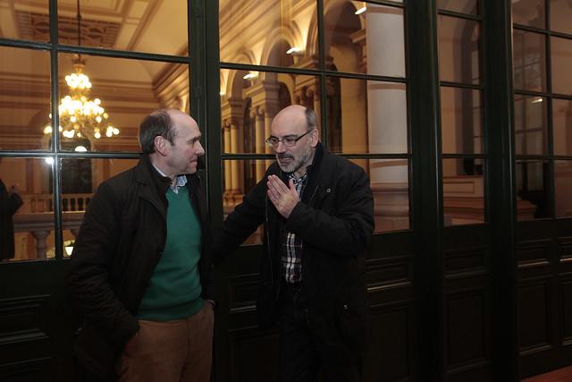 Conferencia en DeustoForum del filósofo e investigador Reyes Mate sobre la centralidad de las víctimas