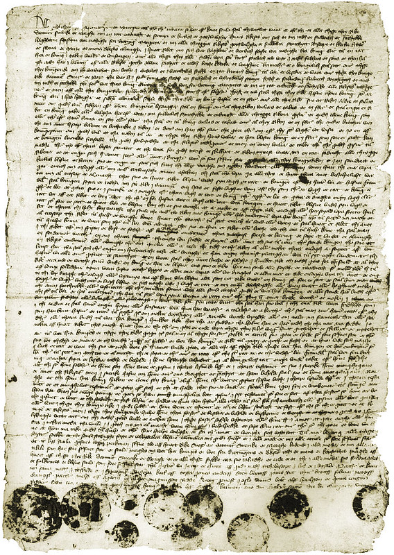 Letter of union between Denmark, Sweden and Norway