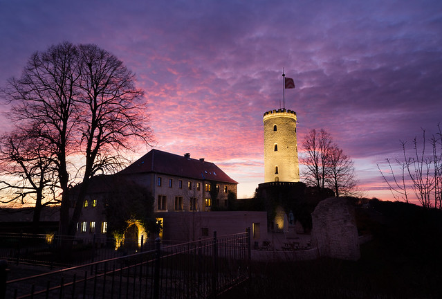 Castle at Sunset again