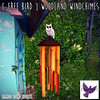[ free bird ] Woodland Windchimes Ad