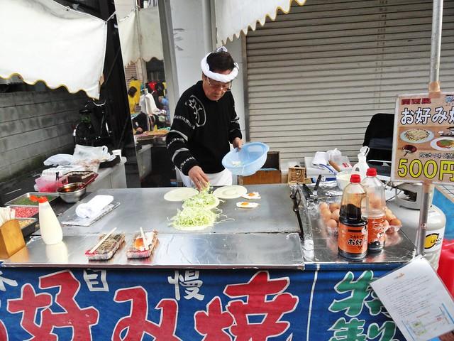 Food at festival in Kawasaki