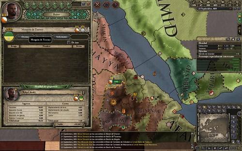 [Crusader Kings II] AAR. La dinastía Assabi (Capítulo III)
