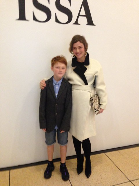 london fashion week camilla rutherford issa