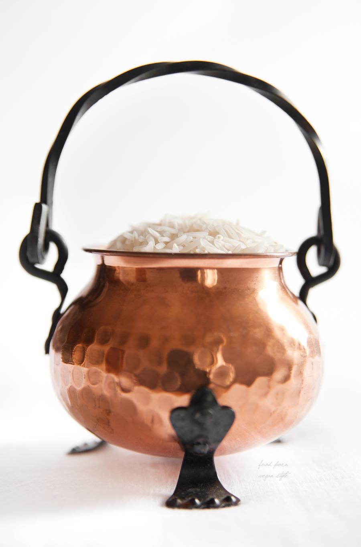 basmati rice milk
