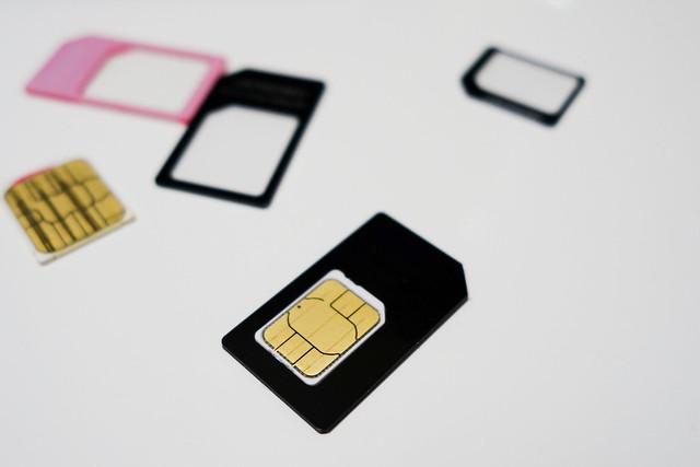 SIM変換アダプター