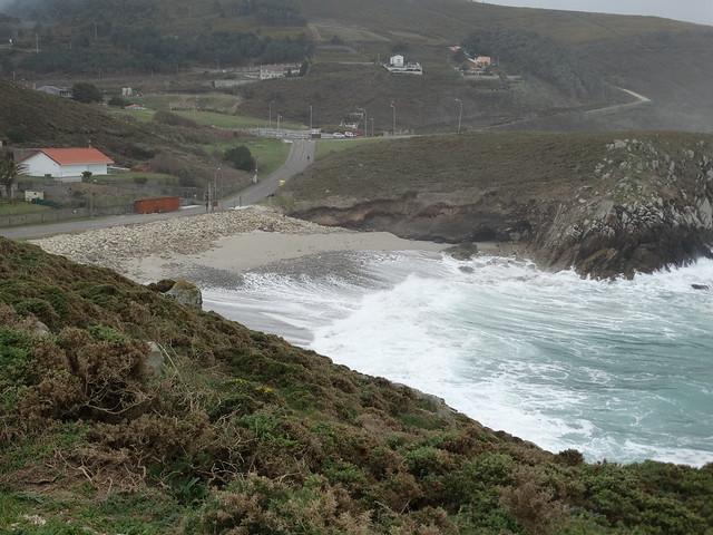Playa de Hucha en Arteixo