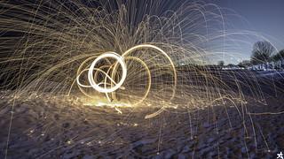 Sparks.