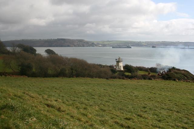 View west near Kingsand