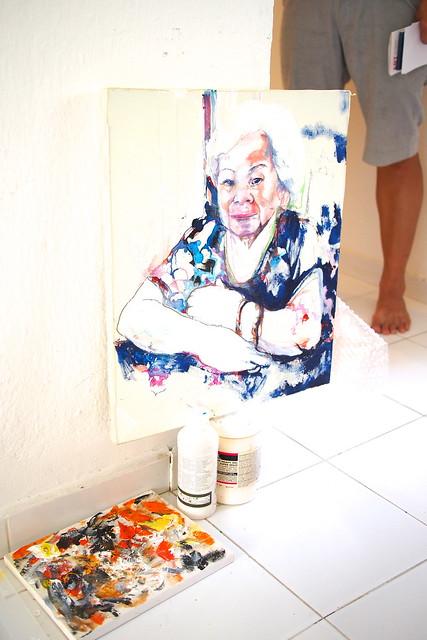 Tsujii Junko. ArtWalk@Wessex 2015, Wessex Estate, Portsdown Road, Singapore