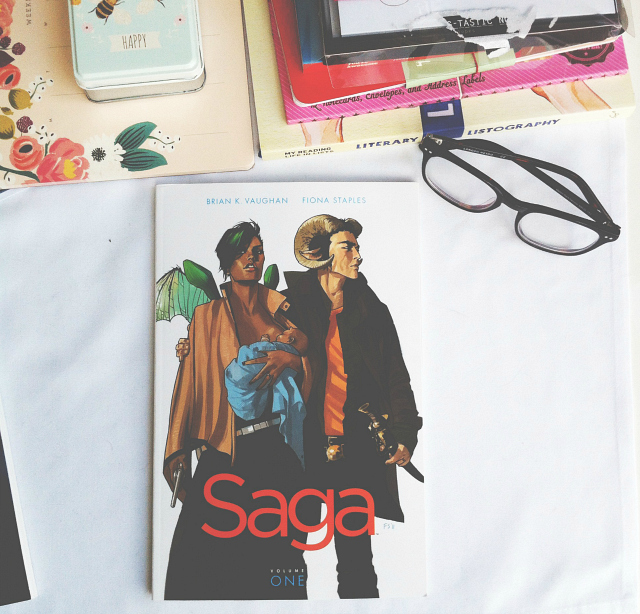 saga brian k vaughan book haul graphic novel book review vivatramp bee uk lifestyle book blog