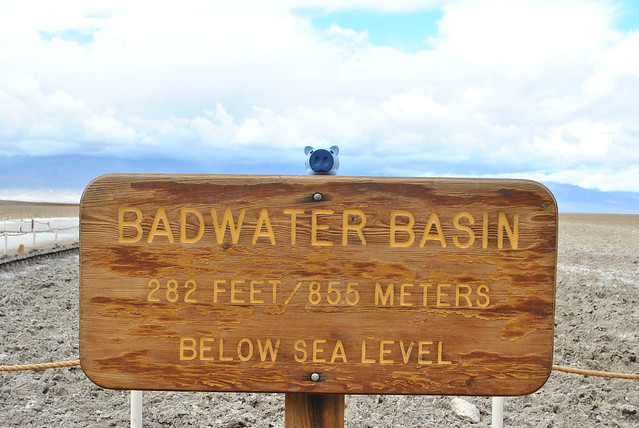 Oliver at Badwater