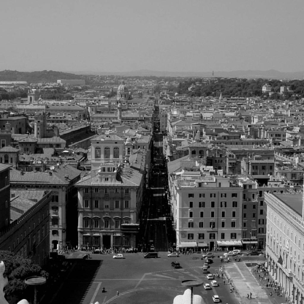 Roma Panorama Dalla Terrazza Del Vittoriano Armando