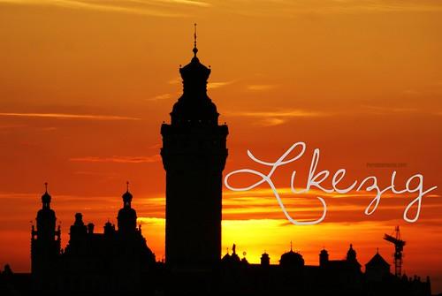 aus Liebe zur Stadt in den Himmel gemalt: Likezig