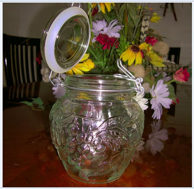 JAR - Oval Jar Clip Top -2