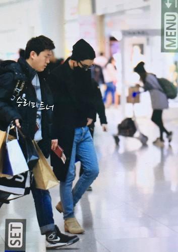 Big Bang - Incheon Airport - 21mar2015 - Seung Ri - Partnervi - 02