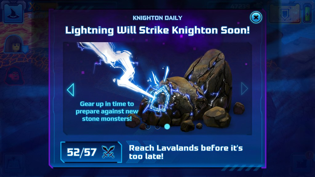 Nexo Knights 2017 in-game teaser