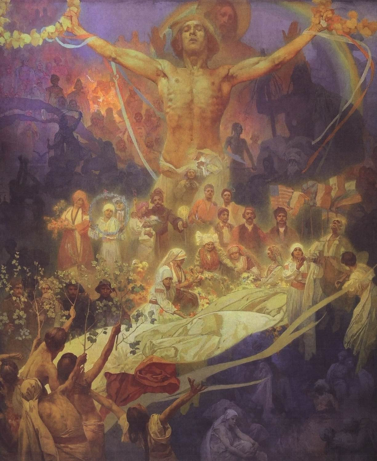 Apotheosis of the Slavs history by Alfons Mucha (1926)