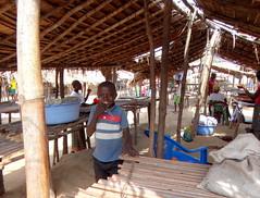 Mercado.   Bumba. RD Congo