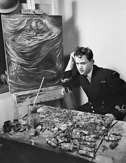 Jack Nichols, war artist / Jack Nichols, artiste de guerre